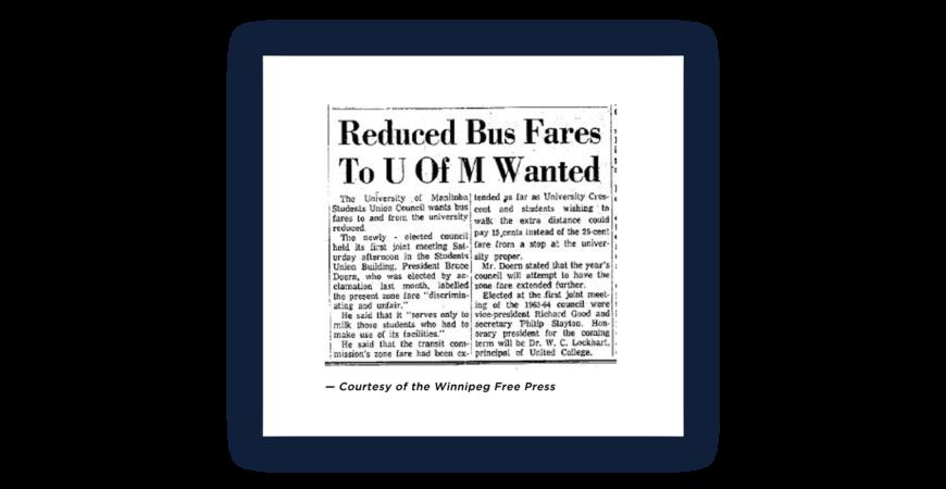 UMSU Seeks Reduced Bus Fares to UofM
